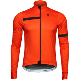 Biehler Signature Stowaway Windbreaker Heren, black/red